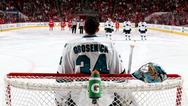 Sharks Grosenick Posts 45 Save Shutout Over Canes In Nhl Debut Prohockeytalk Nbc Sports