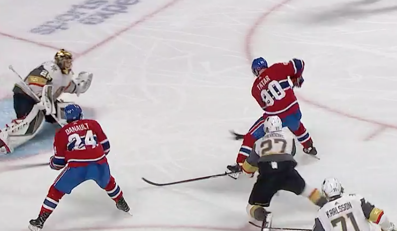 Tomas Tatar Scores Winning Goal In Max Pacioretty S Return To Montreal Prohockeytalk Nbc Sports