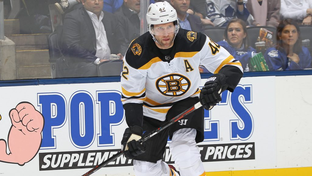 Bruins place David Backes on waivers