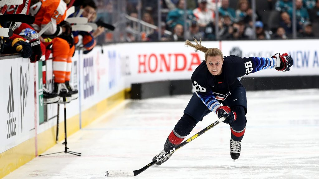Q&A: Kendall Coyne Schofield on impact of NHL Skills participation, 2019 Women's Worlds