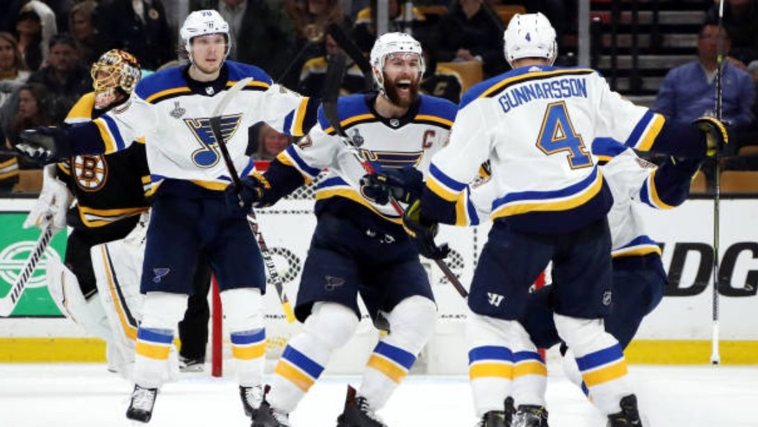 Stanley Cup Buzzer: Gunnarsson wins Game 2 for Blues