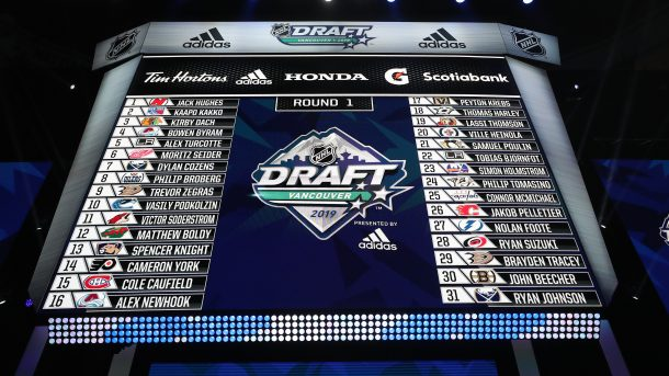 2019 Nhl Draft Tracker Rounds 2 7 Prohockeytalk Nbc Sports