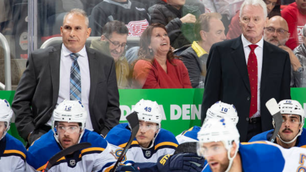 Blues Defense Benefiting From Hofer Larry Robinson S Experience Prohockeytalk Nbc Sports
