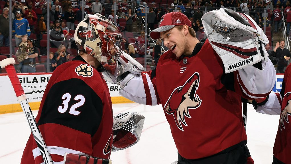 coyotes two goalies