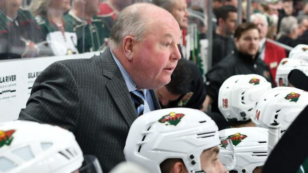 Things Are So Bad For Wild Even Bruce Boudreau S Getting Called