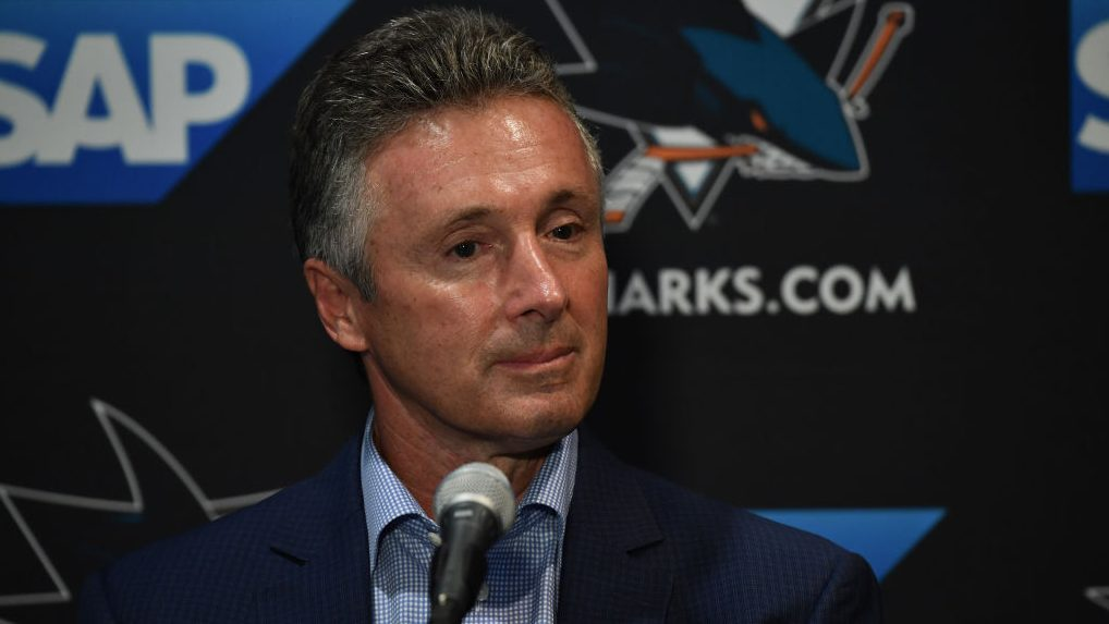 Sharks stick with GM Doug Wilson — for better or worse