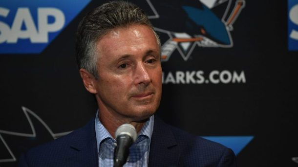 Sharks Doug Wilson vote of confidence