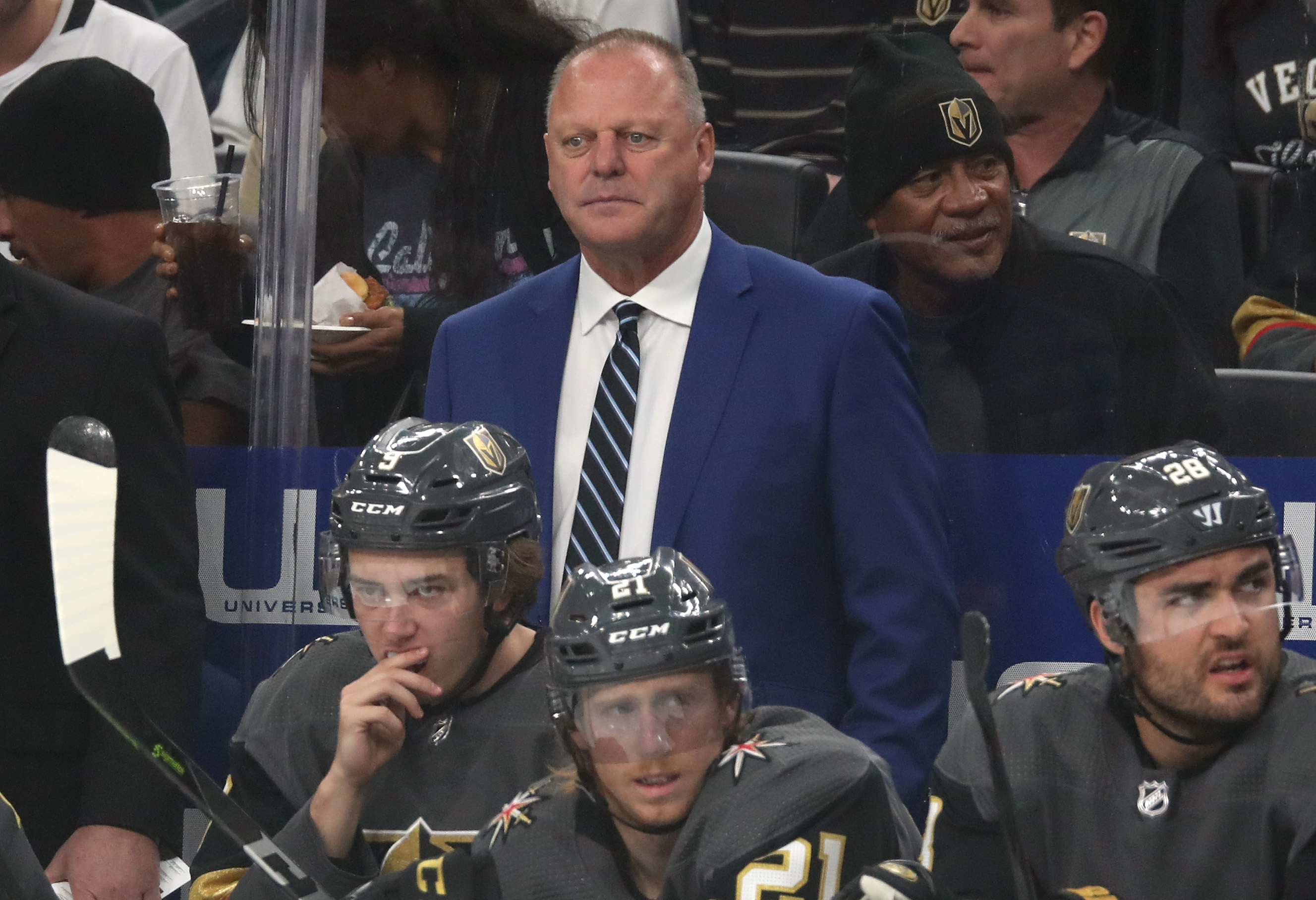 Gerard Gallant on coaching future: 'I'm far from done'