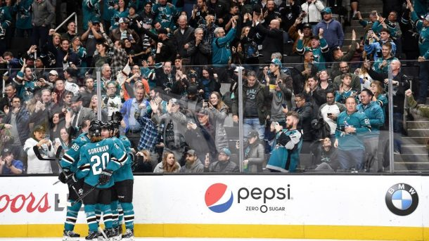 Big night for Patrick Marleau the buzzer