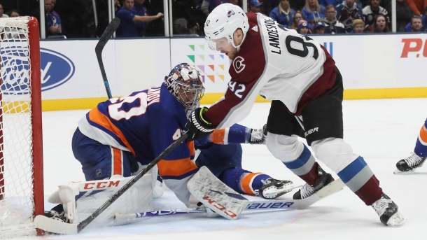 Semyon Varlamov #40 of the New York Islanders