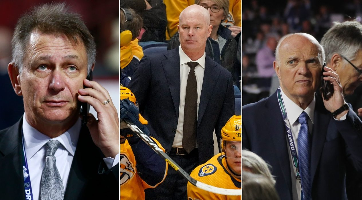 The 6 coaches and general managers that will impact NHL playoff race
