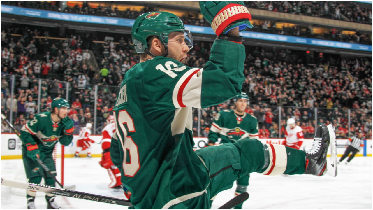 Wild avoid Red Wings upset, now five points from playoff spot