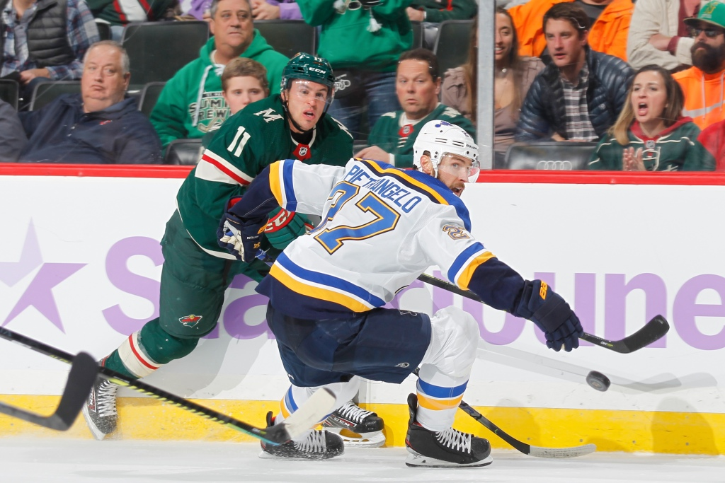 NBCSN Livestream: Blues vs. Wild - ProHockeyTalk | NBC Sports
