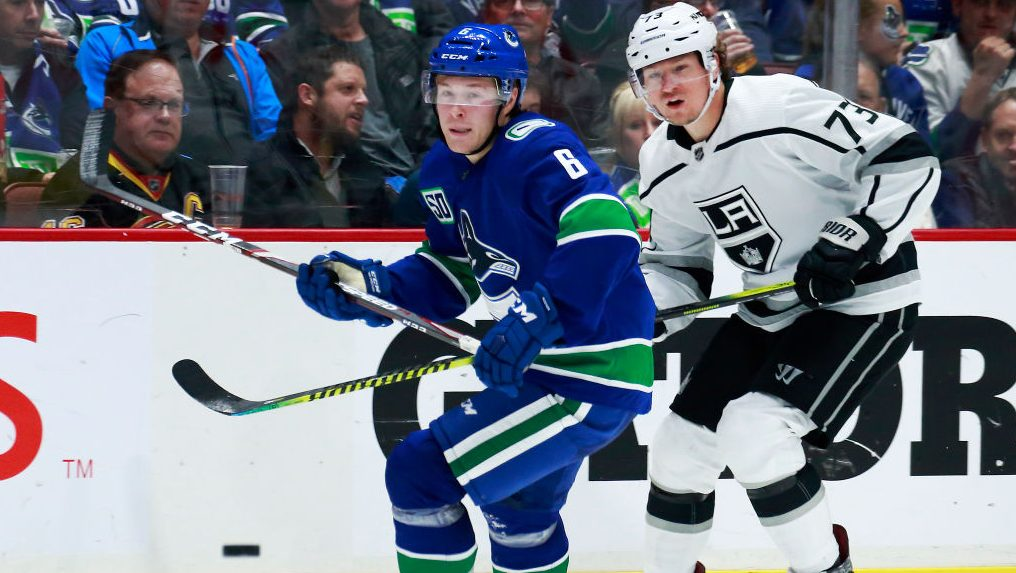 Boeser out eight weeks, injury helps explain Toffoli trade
