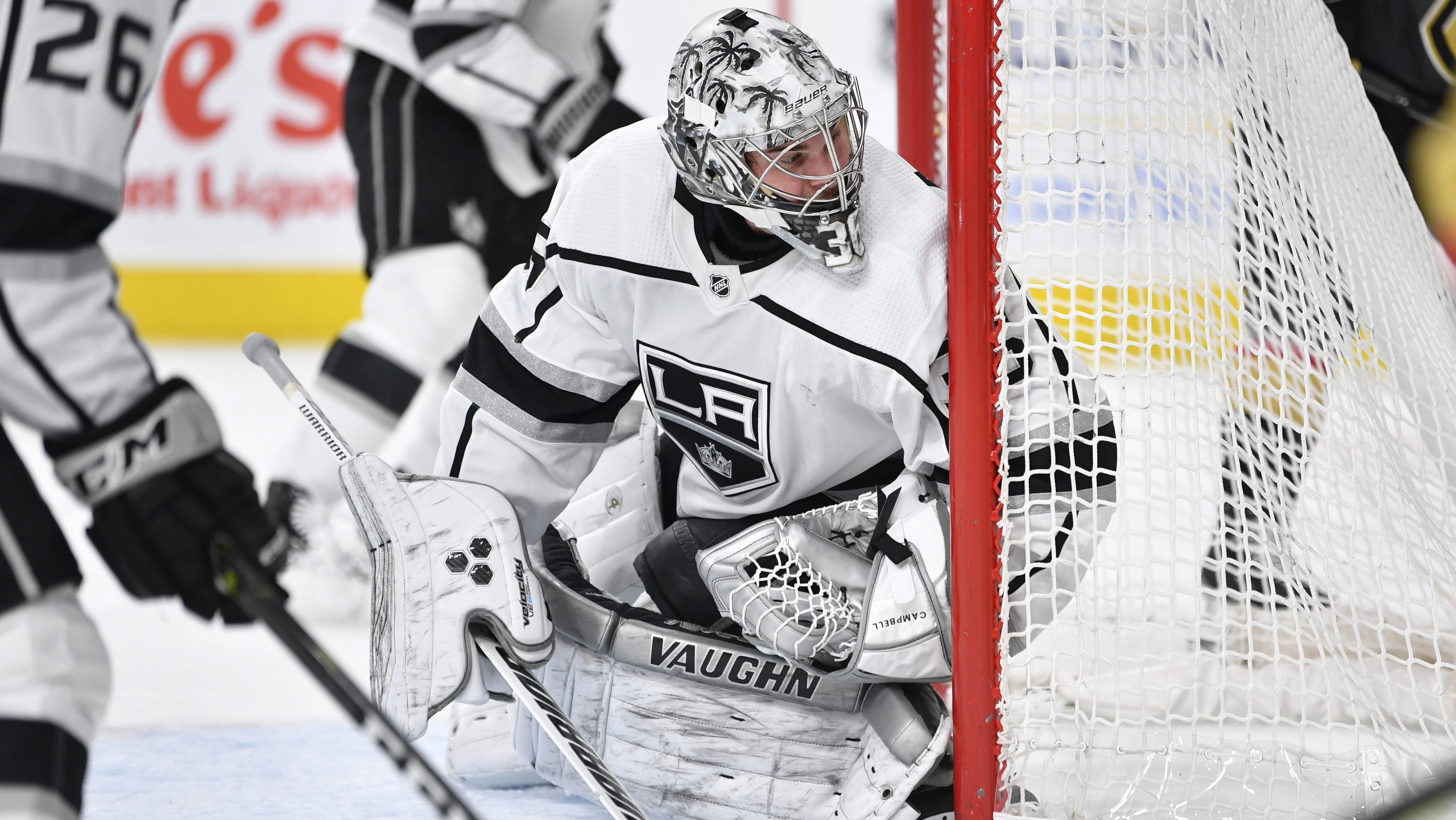 Pressure Is On For New Maple Leafs Goalie Jack Campbell
