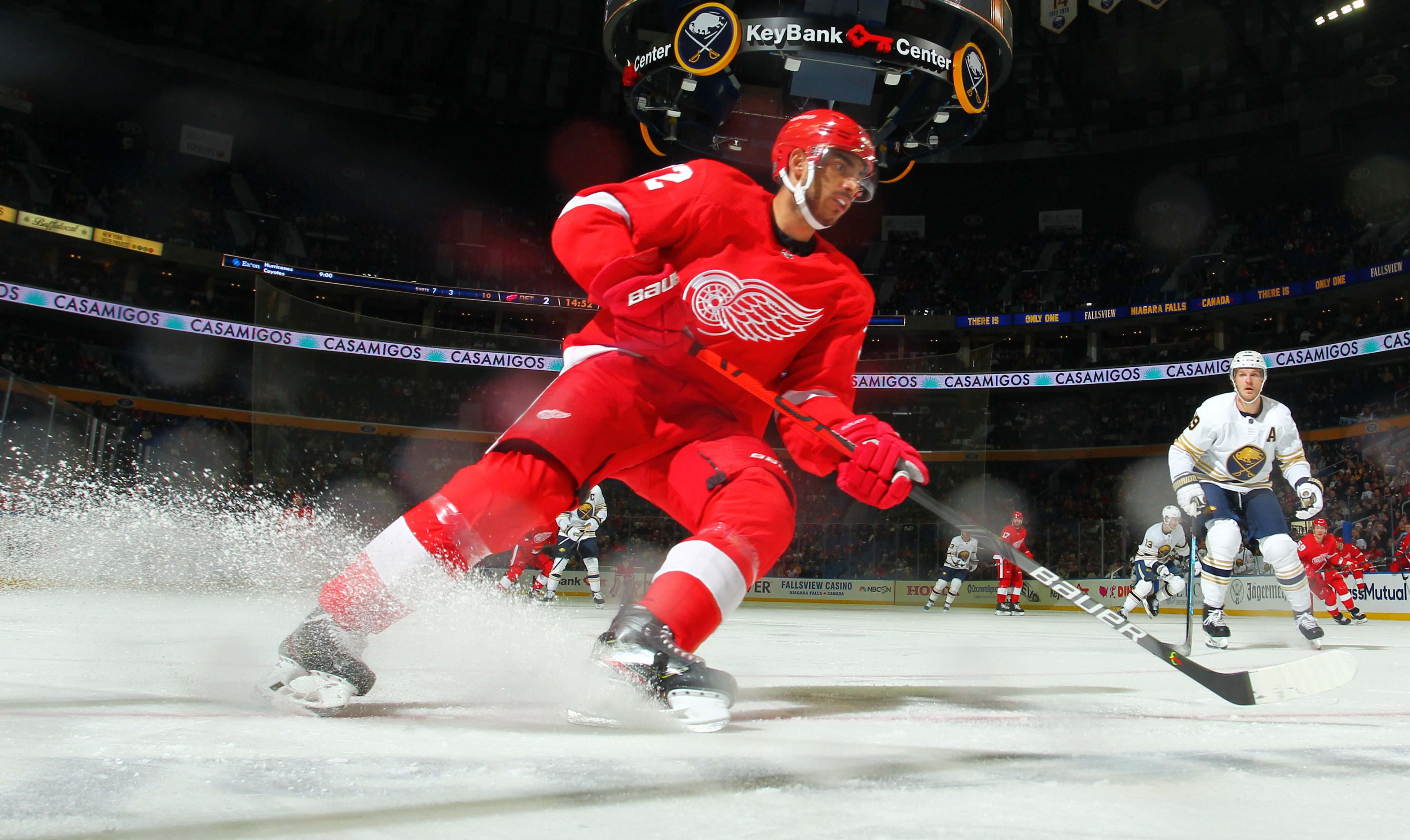 Red Wings trade Andreas Athanasiou to Edmonton Oilers