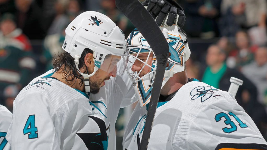 Martin Jones shutout The Buzzer 3 stars highlights