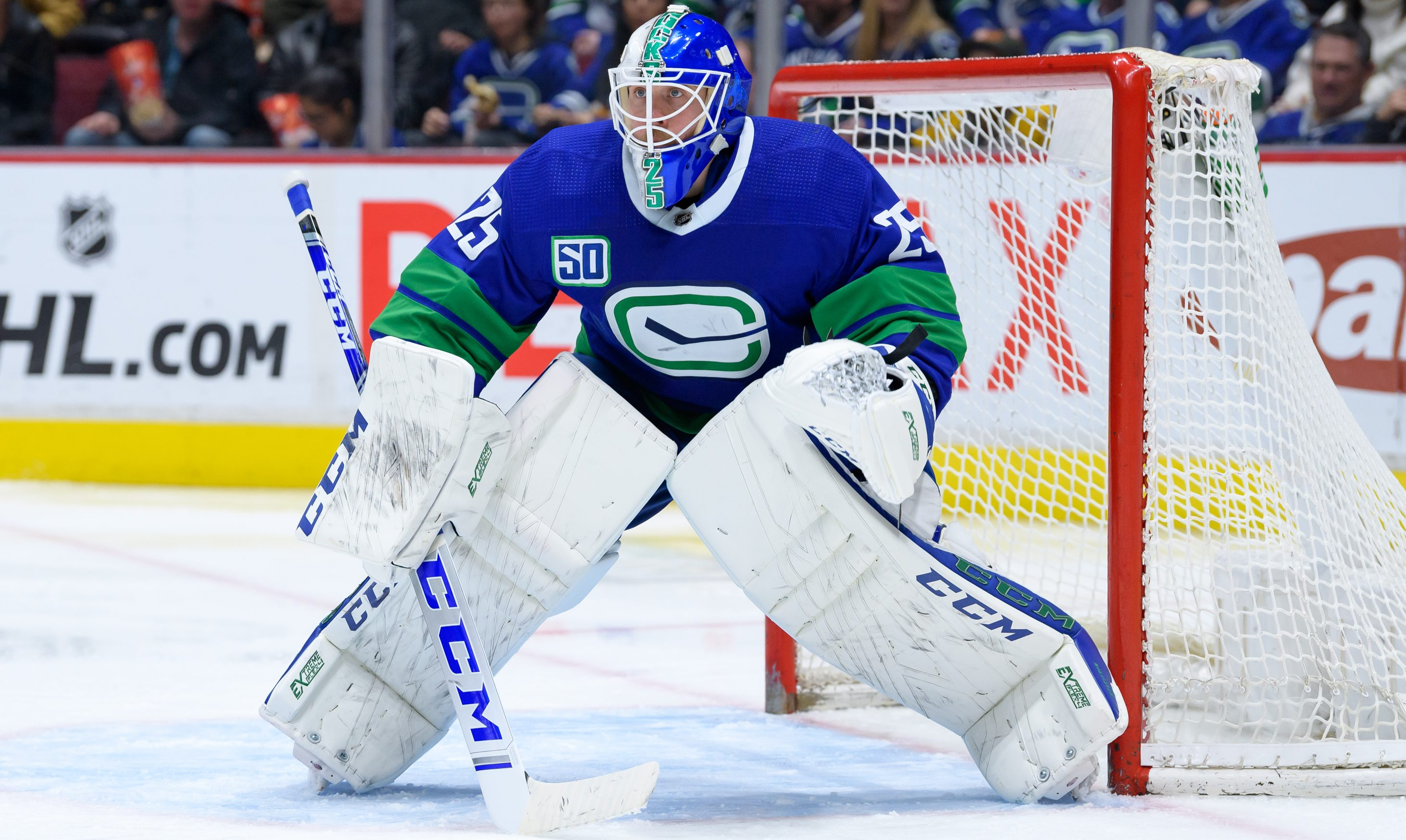 Canucks Goalie Jacob Markstrom To Miss At Least 2 Weeks