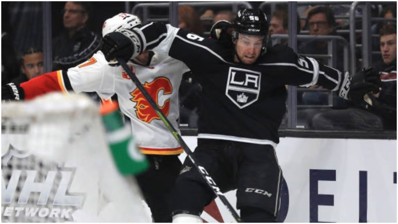 Flames cough up costly loss to L.A. Kings - ProHockeyTalk | NBC Sports