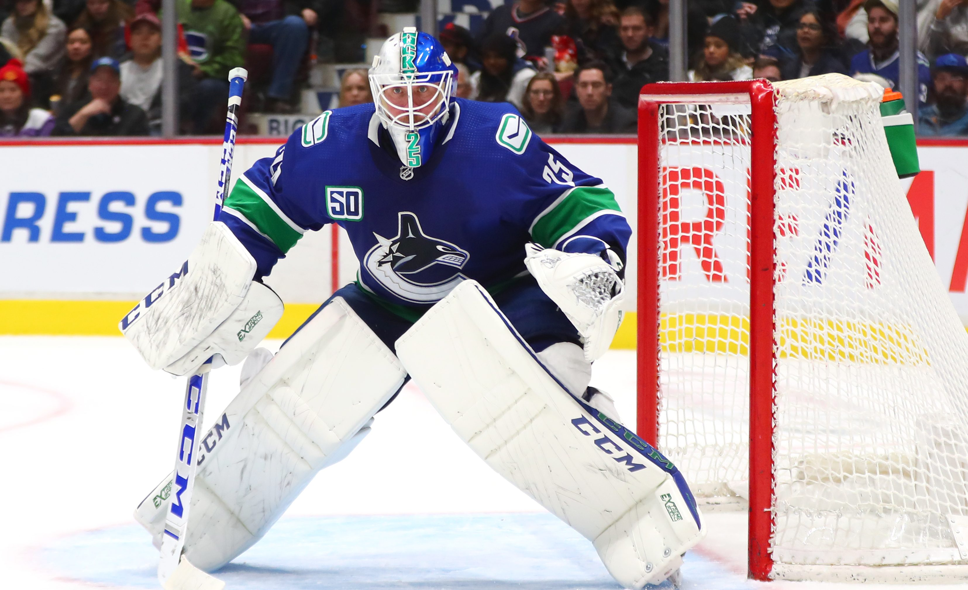 Jacob Markstrom S Absence Shows How Important He Is To Canucks