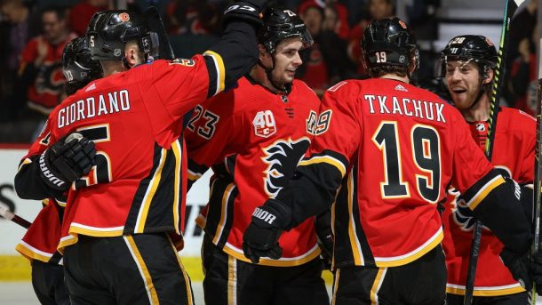 Flames long-term outlook Gaudreau Monahan Giordano Lindholm