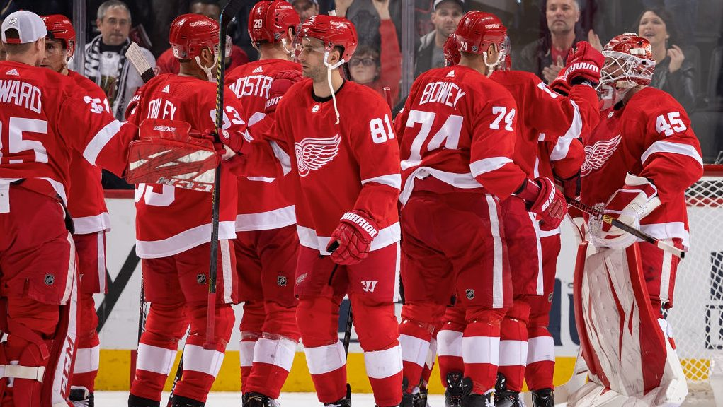 Bernier leads Red Wings to one of NHL upsets Friday The Buzzer