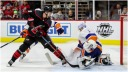 Hurricanes Islanders big afternoon game Push for the Playoffs