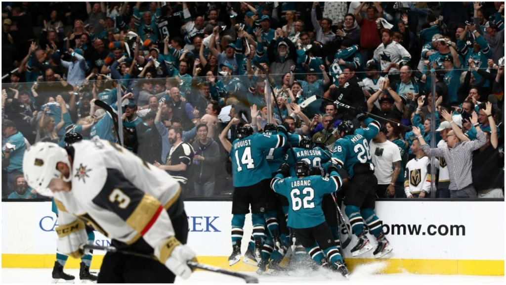 My Favorite Goal Goodrow's Game 7 OT winner Sharks Hertl