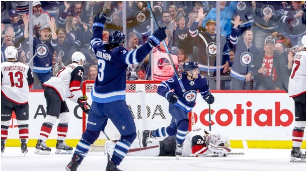 Jets rally beat Coyotes in regulation West wild-card race NHL