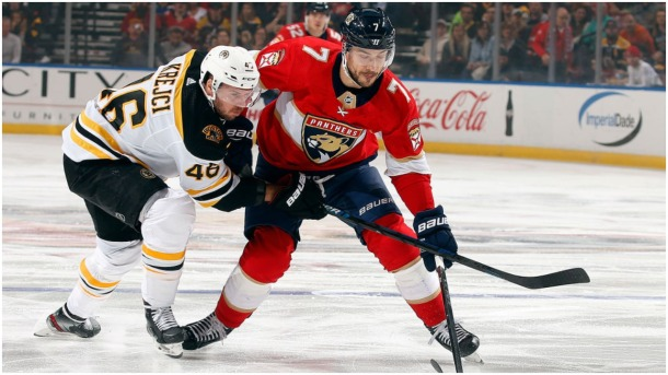 Panthers Push for the Playoffs vs. Bruins