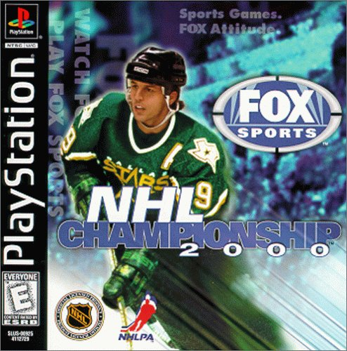 NHL Championship 2000 front