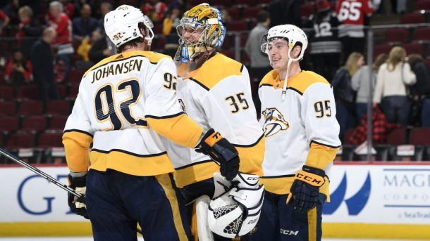 Predators disappointments Rinne Duchene Johansen