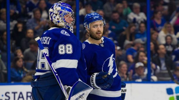 Lightning surprises disappointments Shattenkirk Vasilevskiy