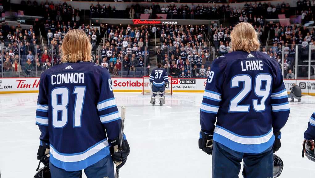 Long-term outlook Winnipeg Jets Laine Connor Hellebuyck