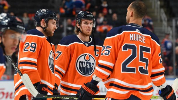 Edmonton Oilers long-term outlook McDavid Nurse Draisaitl