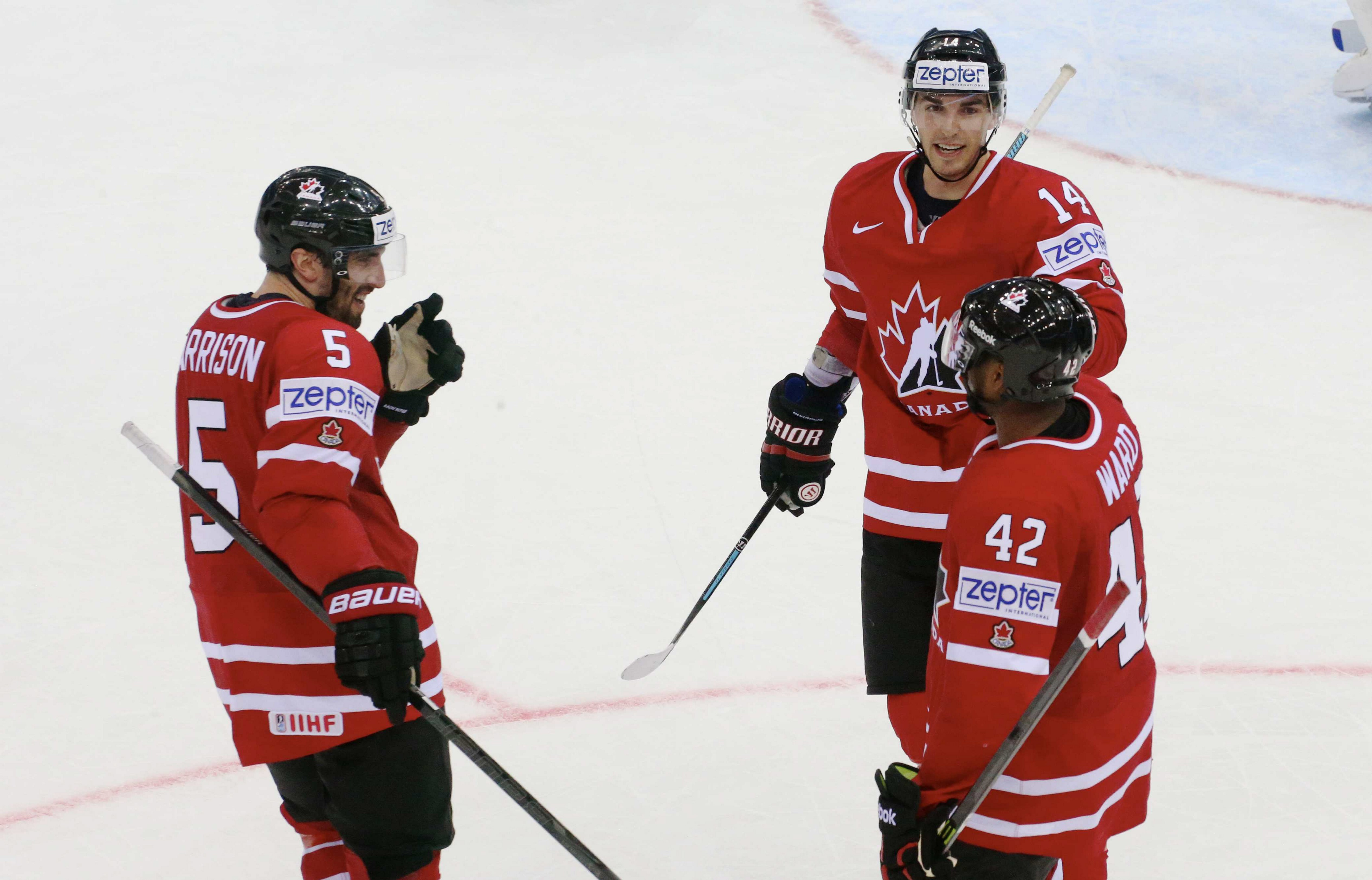 Ward retires from hockey, 2014 world championships