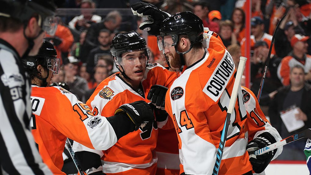 Long-term outlook for Flyers Provorov Couturier Konecny