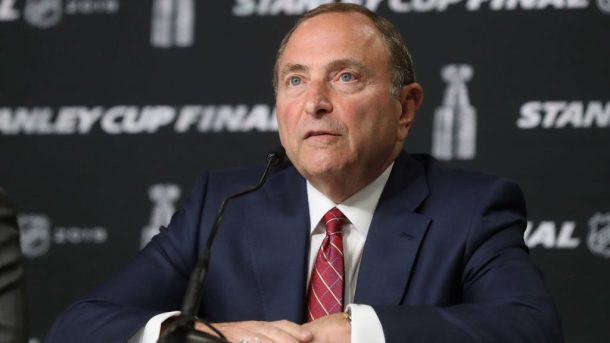 NHL return to play 24-team playoff Bettman
