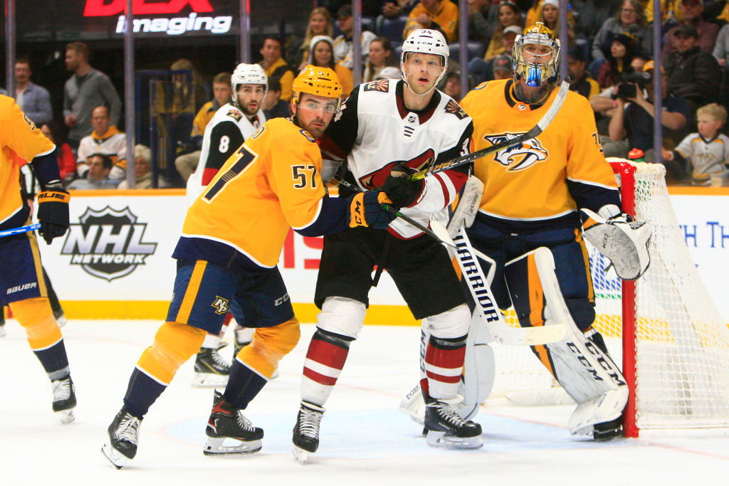 Western Conference qualifying round matchups Predators Coyotes