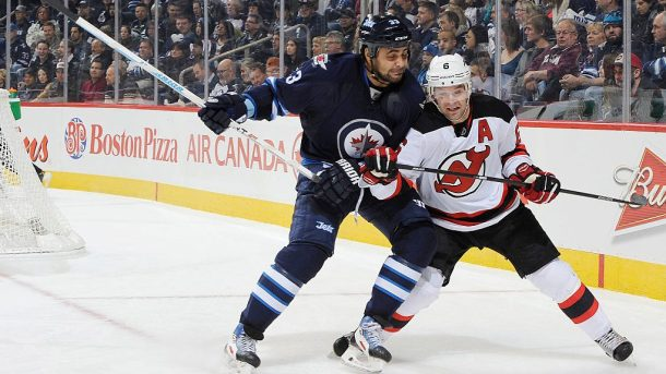 NHL free agent defensemen Dustin Byfuglien Andy Greene