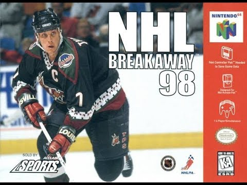 NHL Breakaway '98 Keith Tkachuk hockey video games Nintendo 64