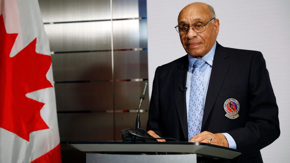 Willie O'Ree racism in hockey