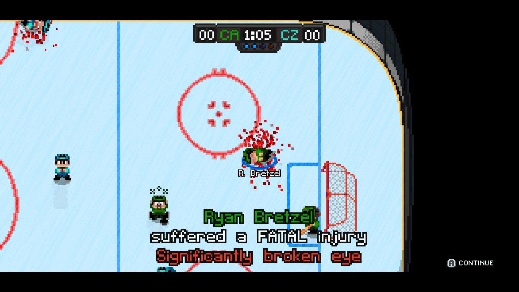 Super Blood Hockey poor Bretzel