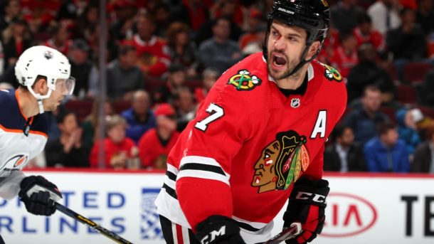 Brent Seabrook Blackhawks travel return to play salary cap LTIR