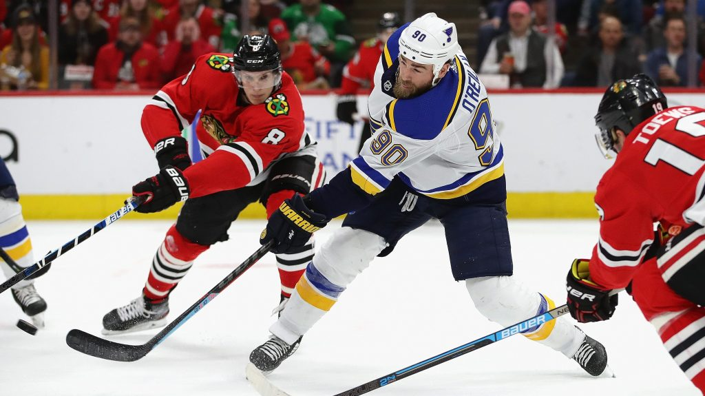 Blackhawks-Blues stream
