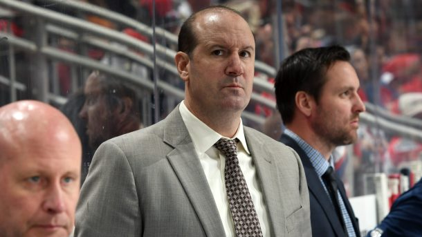 Capitals fire coach