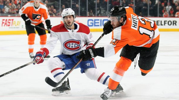 Canadiens-Flyers stream