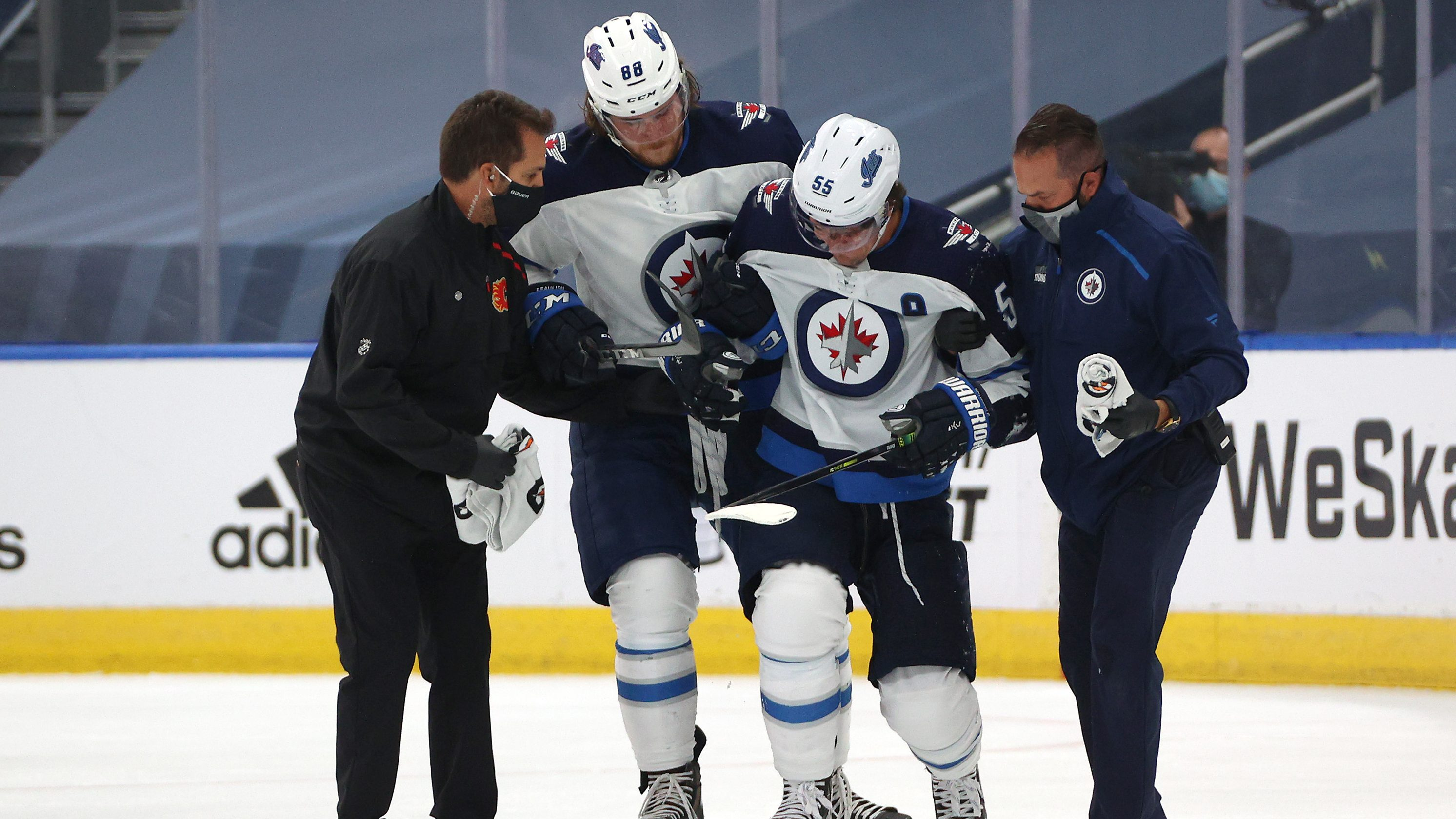 Jets Mark Scheifele On Injury I Ll Be Back Better Than Ever