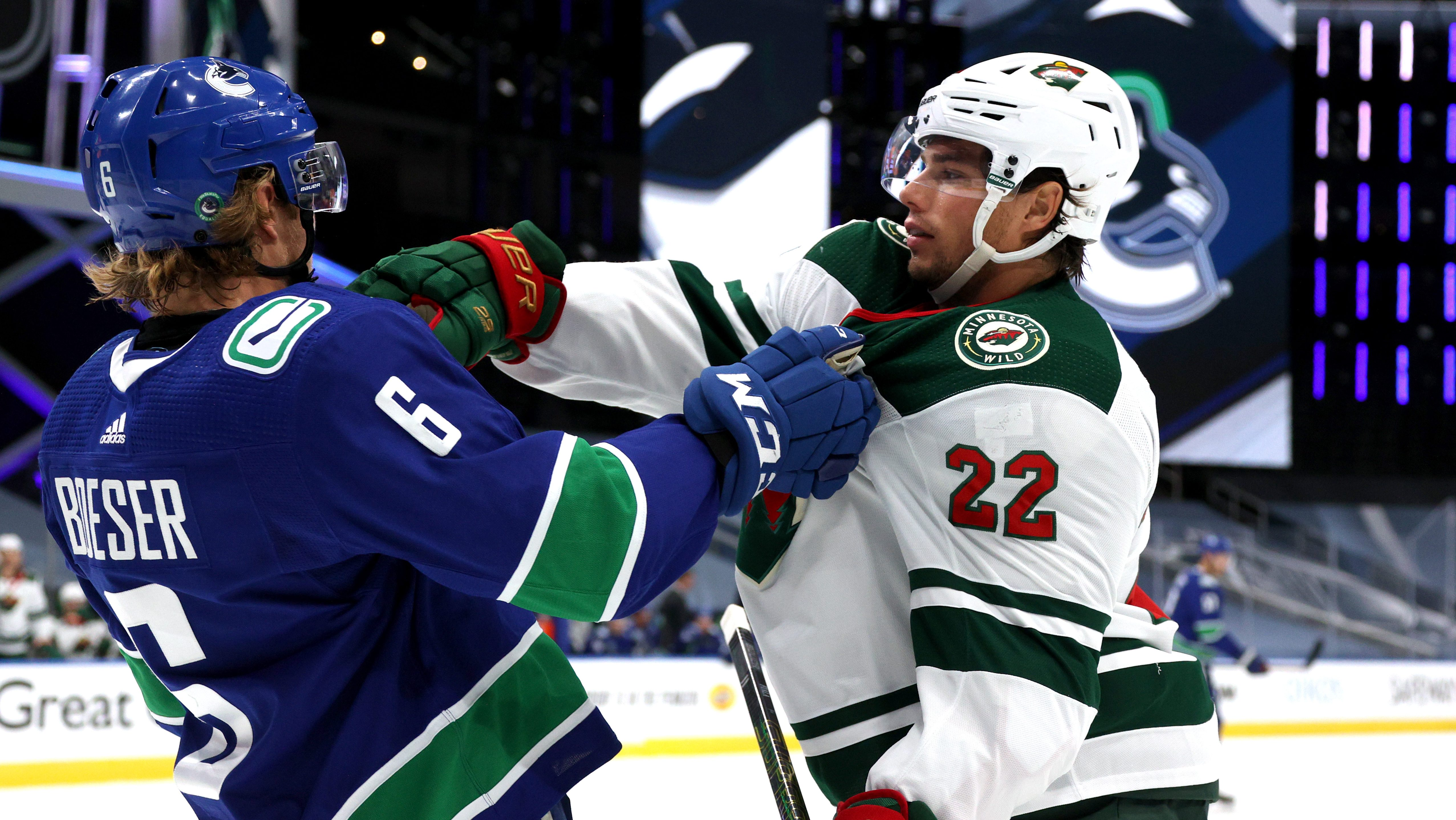 Canucks-Wild stream: 2020 NHL Stanley Cup Qualifiers