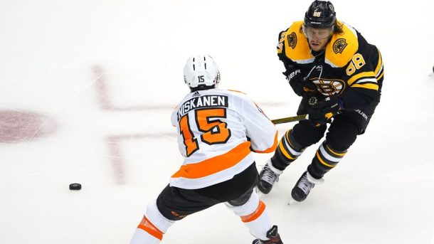 Flyers beat Bruins in first NHL round-robin game